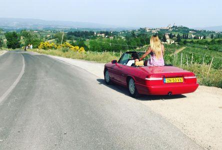 Cabrio Huren In Italie